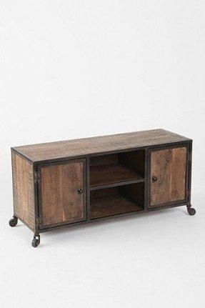 Metal And Wood Tv Stand – Foter Regarding Most Popular Industrial Metal Tv Stands (View 10 of 20)