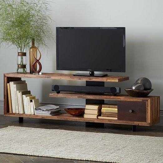 Metal And Wood Tv Stand – Foter Throughout Latest Metal And Wood Tv Stands (View 18 of 20)