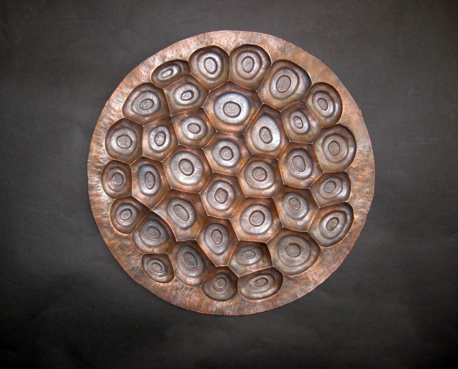 Metal Art And Sculpture: Repousse And Chasing Tutorial – Copper For Sheet Metal Wall Art (Image 9 of 20)