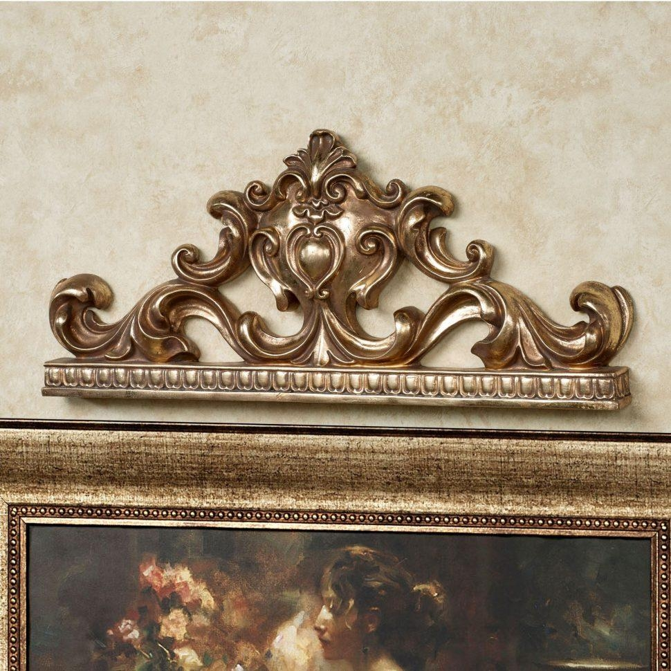 Metal Flower Wall Art Tags : Wrought Iron Metal Ornament Bed Throughout Italian Outdoor Wall Art (Image 8 of 20)