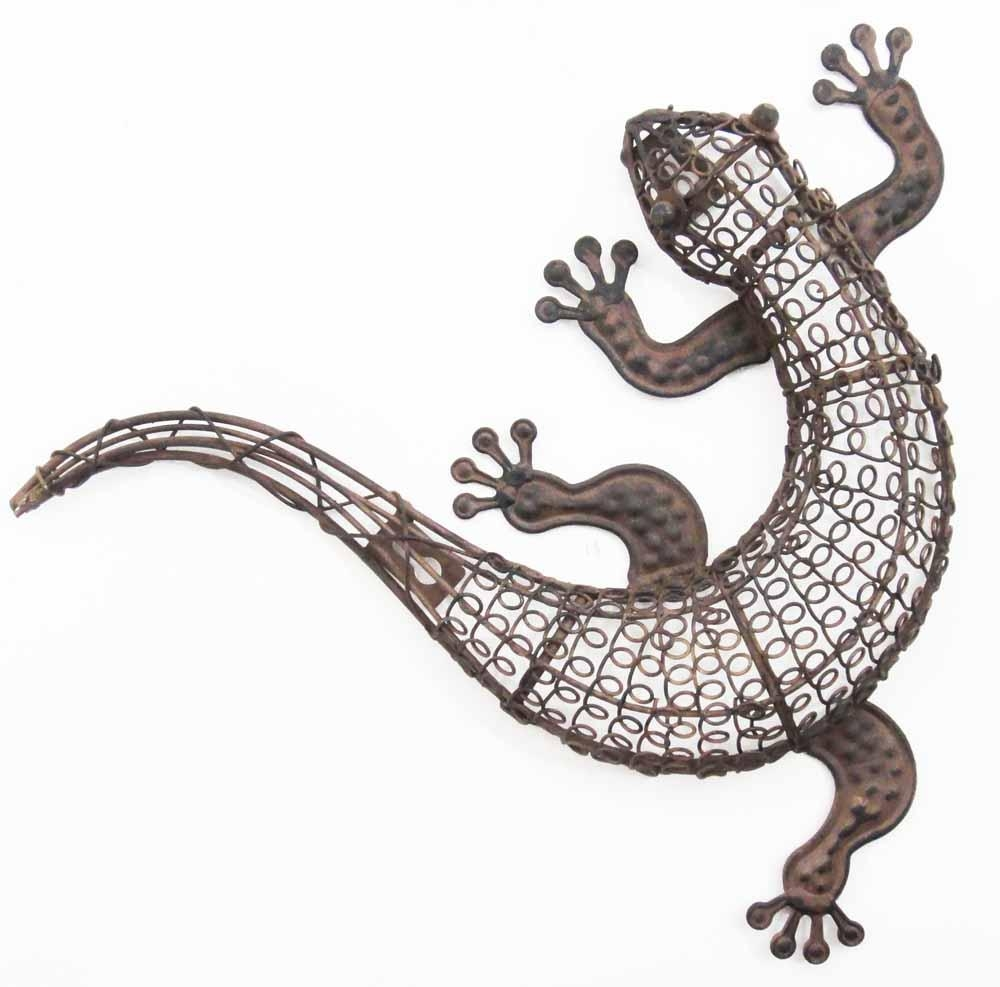 Metal Lizard Wall Art Uk – Gecko Wall Art Outdoor | Metal Wall Art For Gecko Outdoor Wall Art (View 10 of 20)