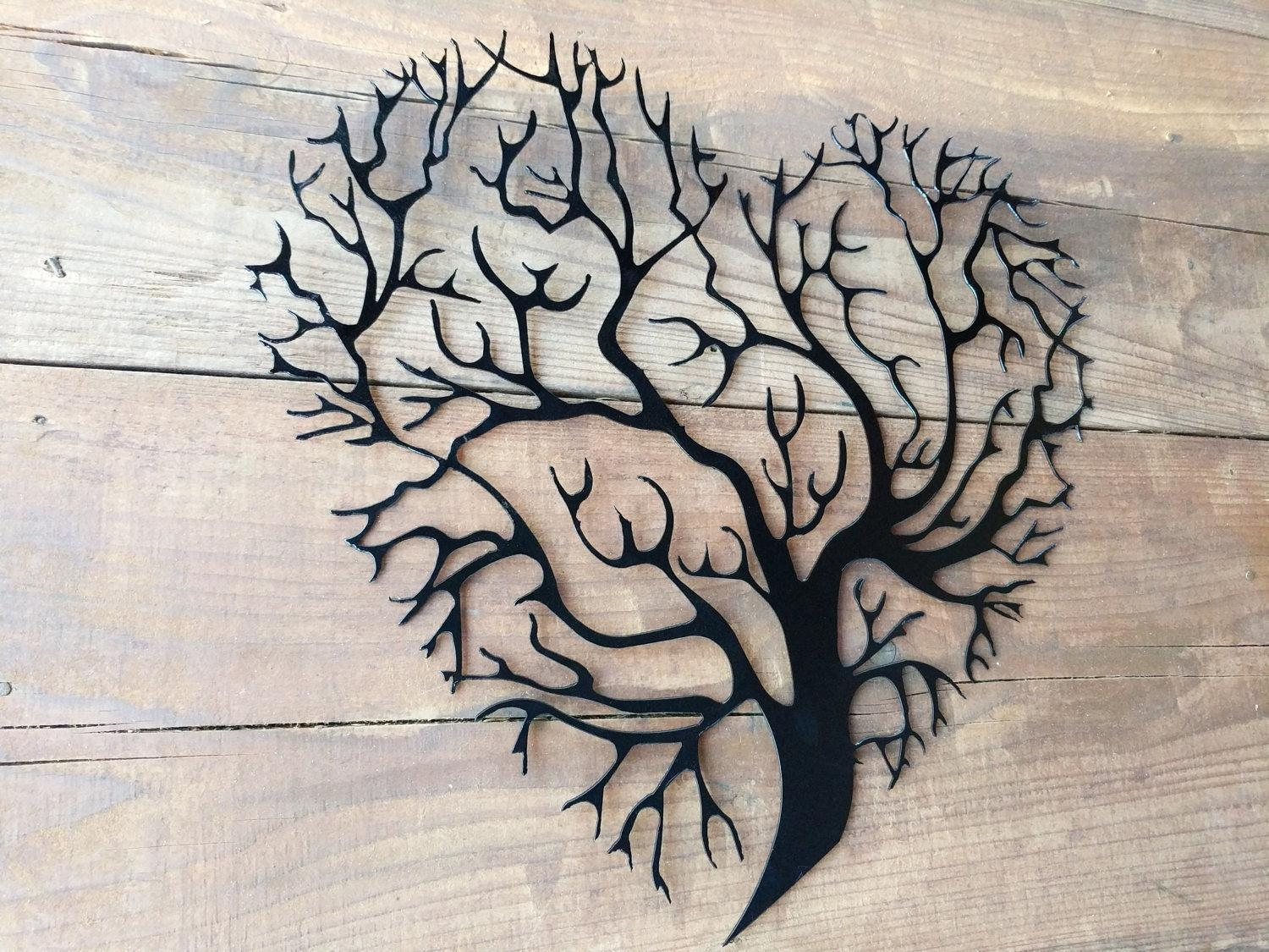 Metal Tree Wall Art (Image 7 of 20)