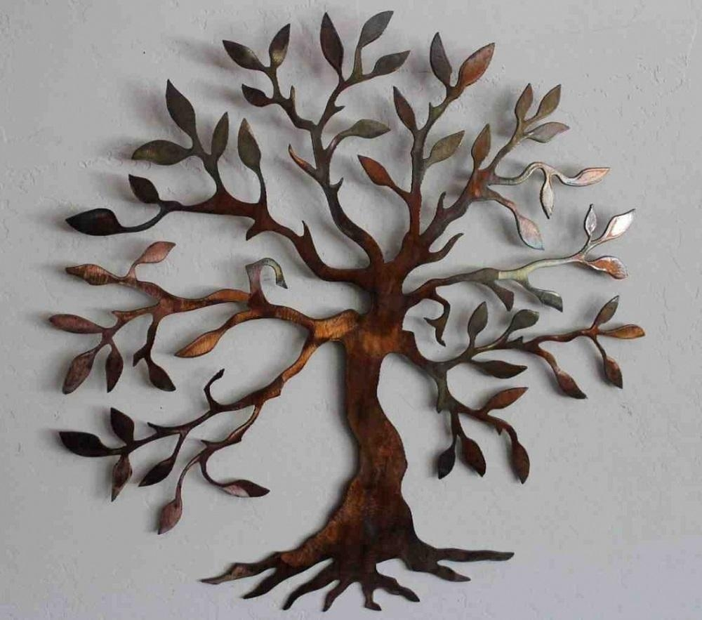 Metal Wall Art Decor And Sculptures | Lv Designs In Diy Metal Wall Art (Image 10 of 20)