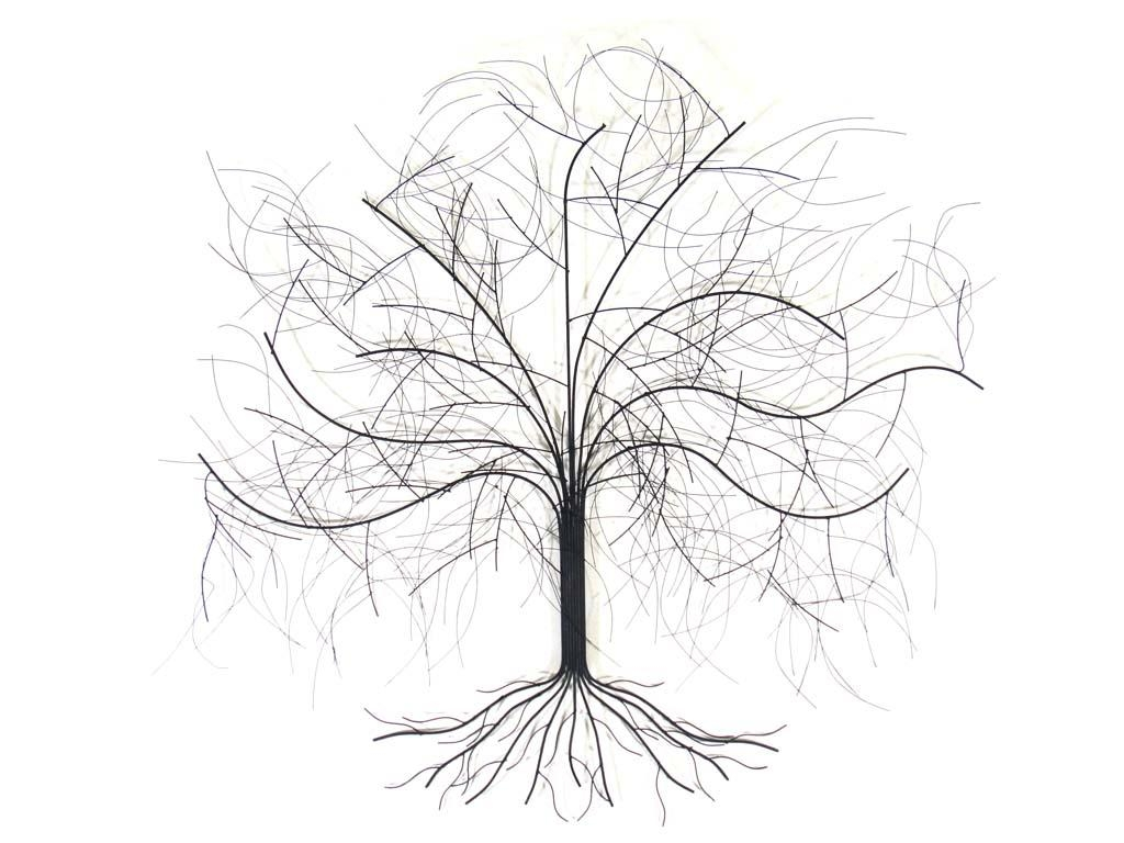 Featured Photo of Contemporary Large Oak Tree Metal Wall Art