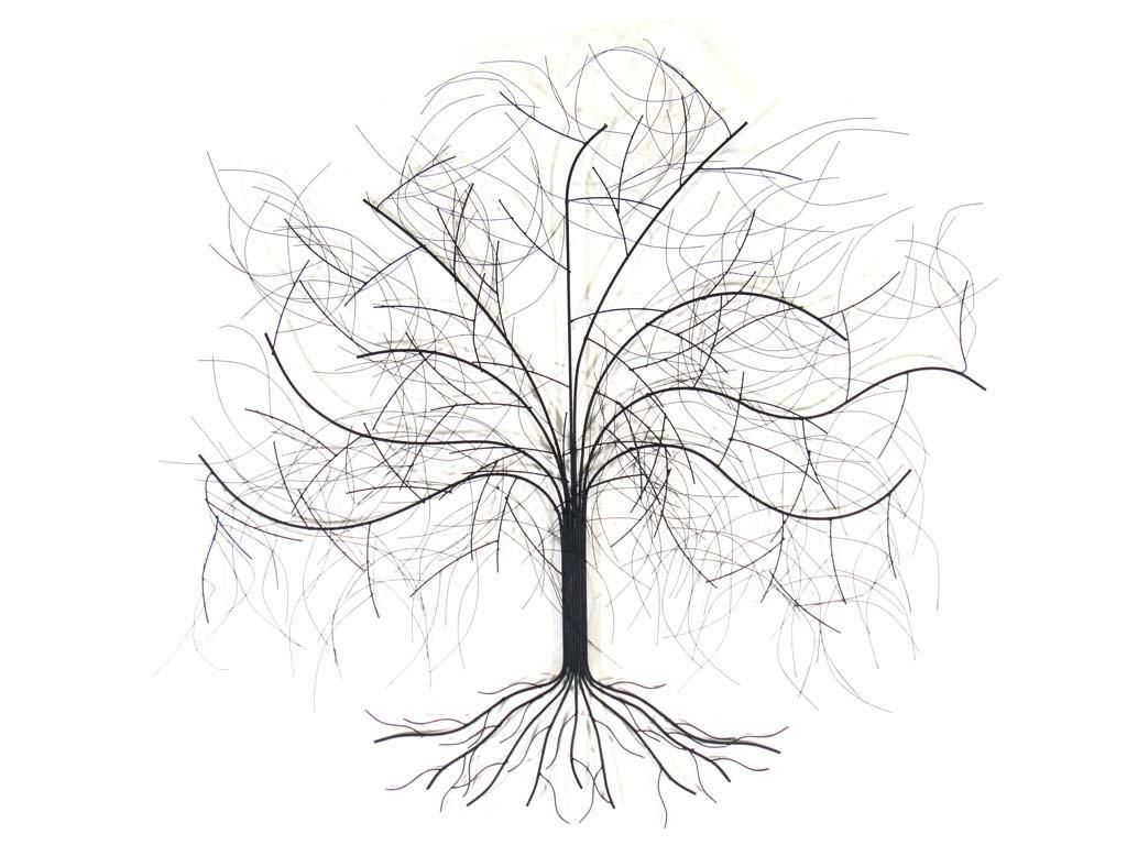 Metal Wall Art – Large Oak Tree Pertaining To Oak Tree Large Metal Wall Art (View 4 of 20)