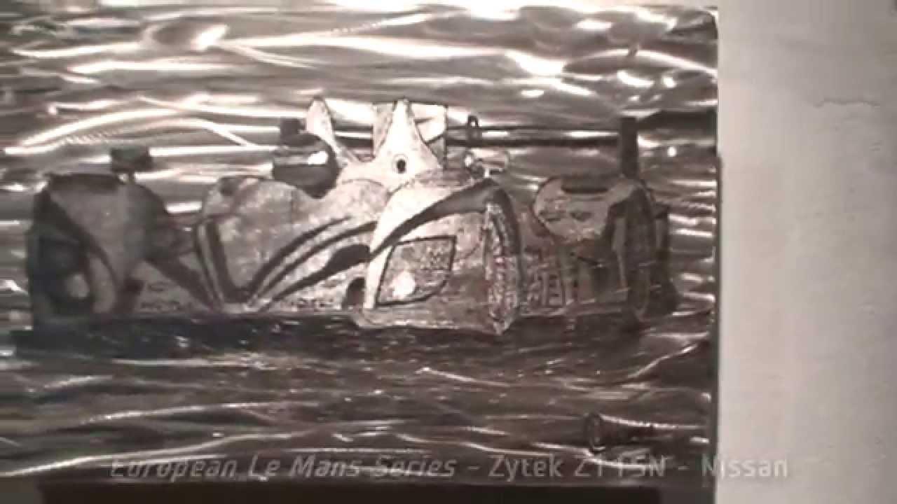 Metal Wall Art – Race Cars  (Image 11 of 20)