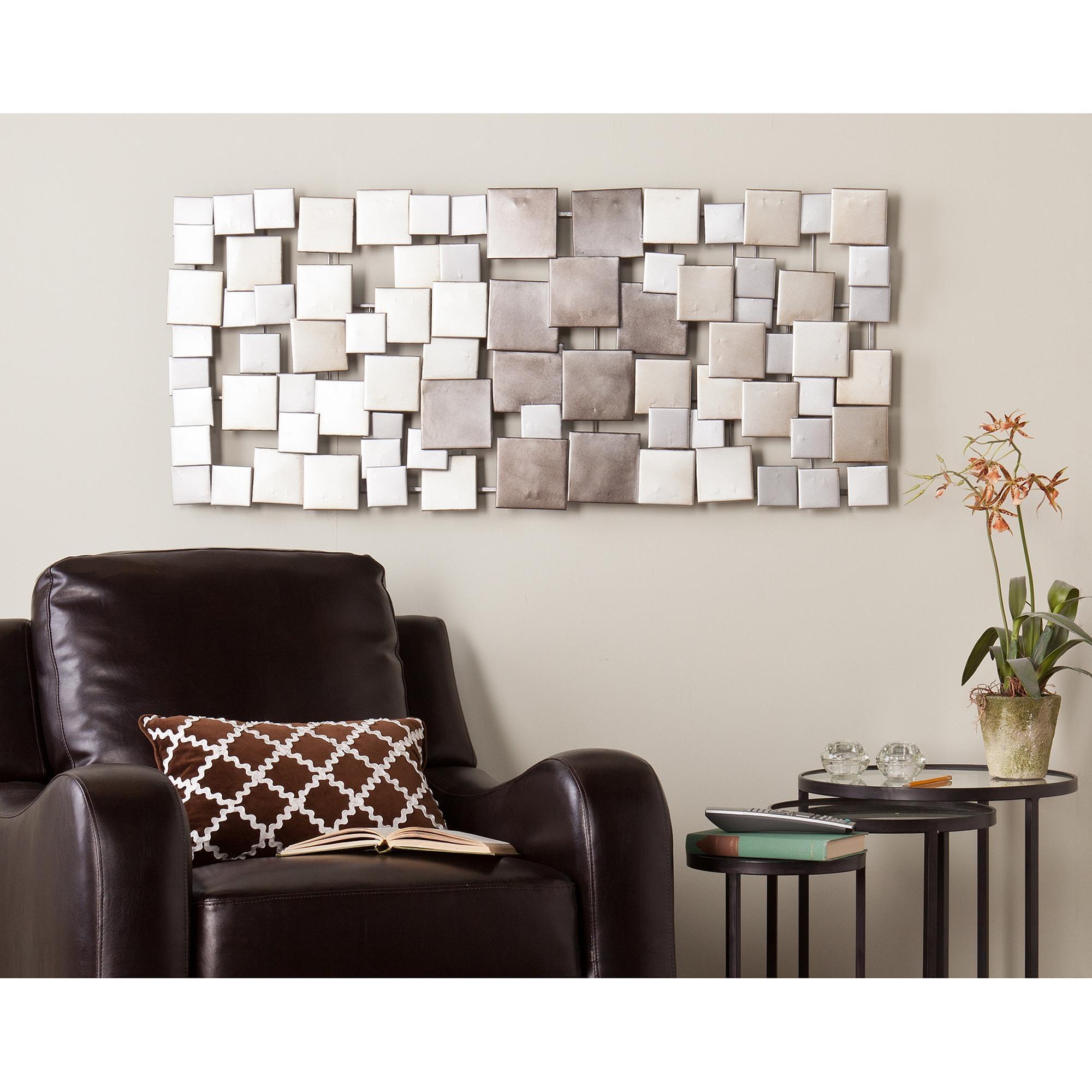 Metal Wall Art – Walmart With Decorative Metal Disc Wall Art (View 12 of 18)