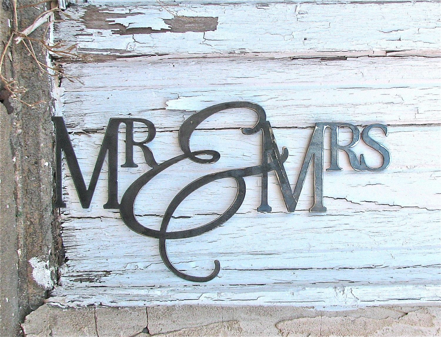 Featured Photo of Mr And Mrs Wall Art