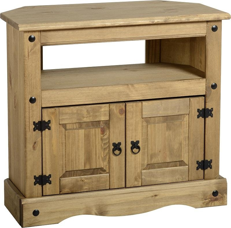 Mexican Pine Tv Cabinet | Bar Cabinet With Most Recent Pine Corner Tv Stands (Image 9 of 20)