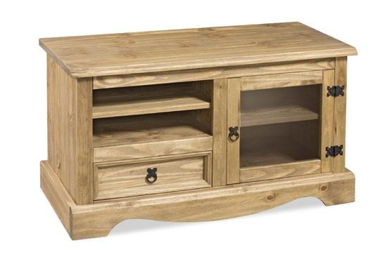 Mexican Pine Tv Cabinet | Mf Cabinets Pertaining To Most Up To Date Corona Tv Corner Unit (View 19 of 20)