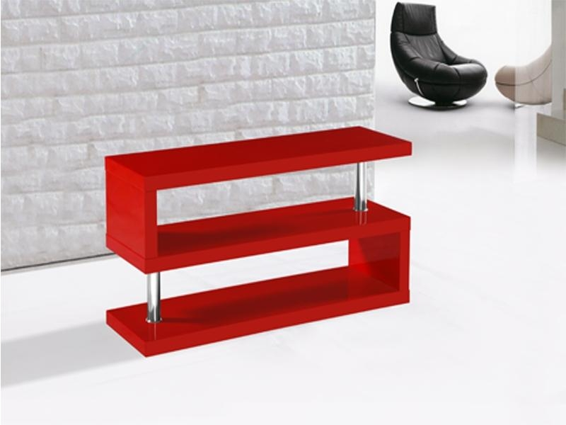 Miami Tv Stand In Red High Gloss | Allans Furniture Warehouse In Newest Red Modern Tv Stands (Image 10 of 20)