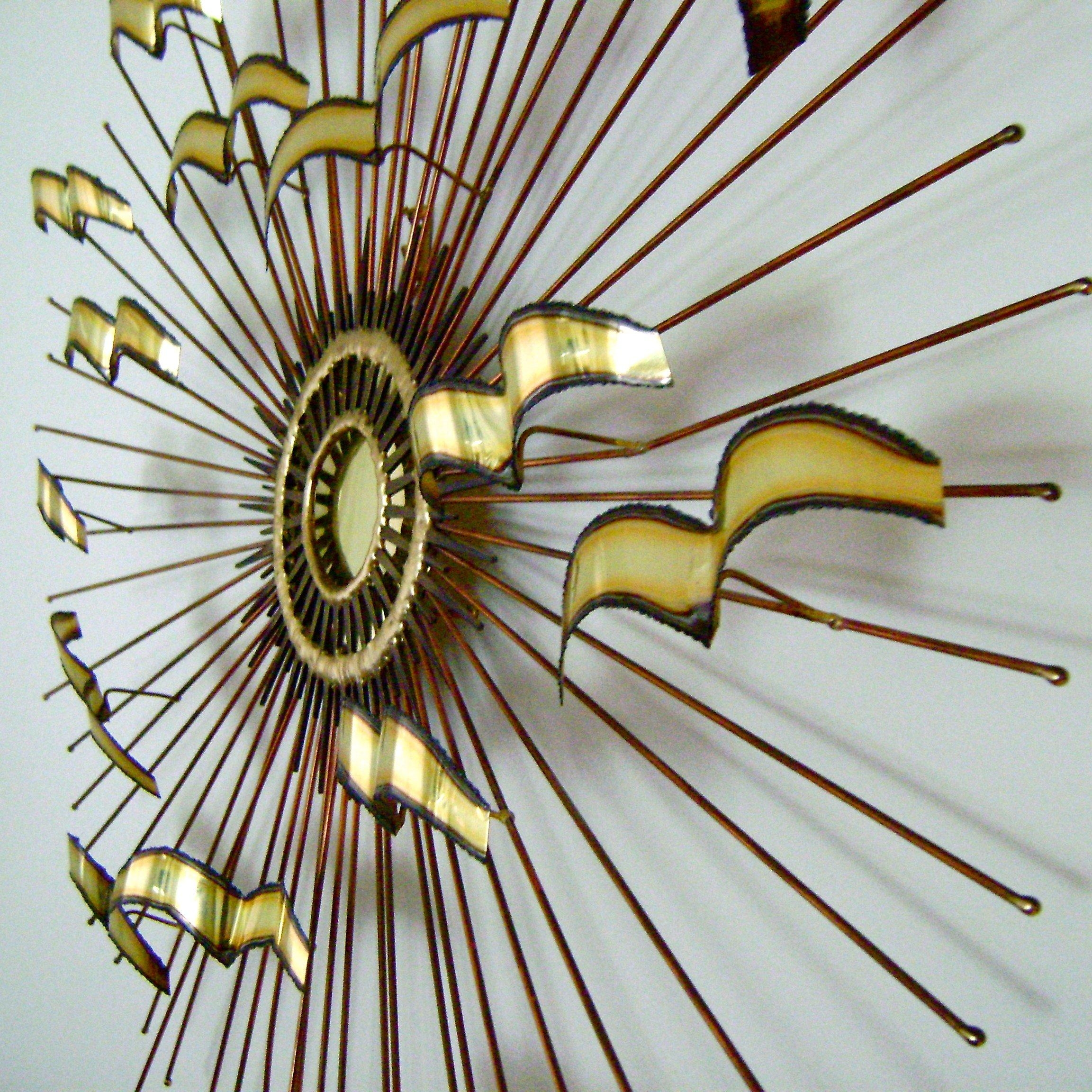 Mid Century Brass Wall Artc Jere Modern Wall Art – Blog Stodiefor Within C Jere Wall Art (View 6 of 20)
