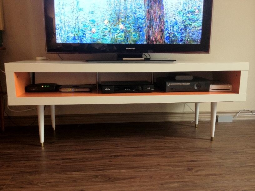 Mid Century Lack Tv Hack – Ikea Hackers – Ikea Hackers For Most Up To Date Bench Tv Stands (Image 14 of 20)