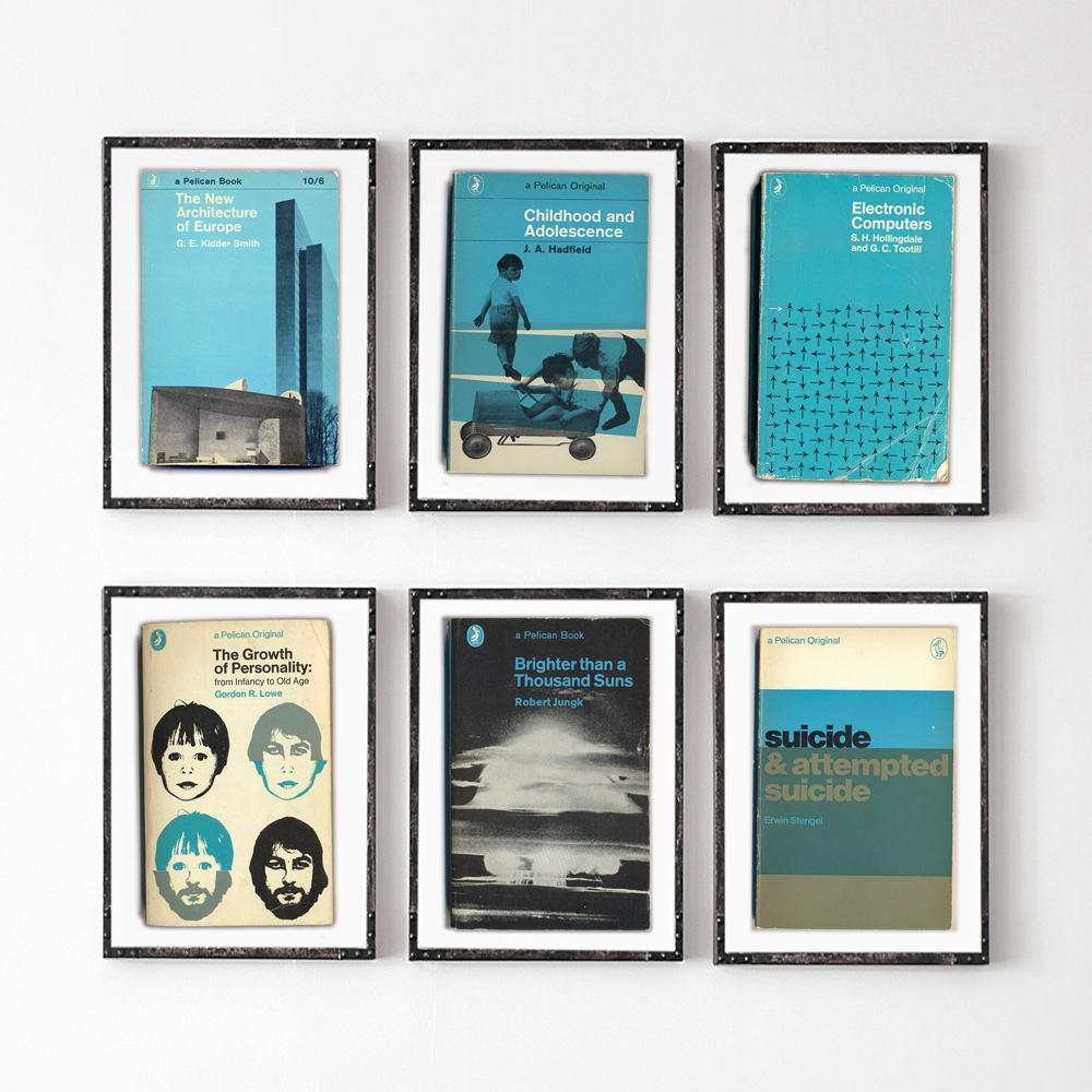 Penguin Book Cover Art Prints : Collection of penguin books wall art ideas