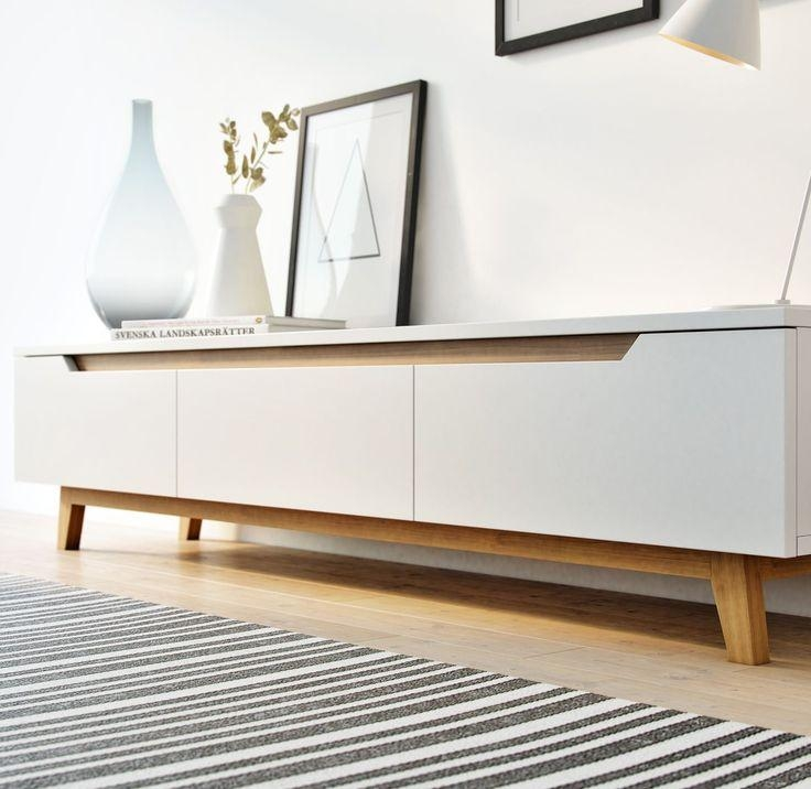 Mikkel Tv Stand | Tv Stands, Tvs And Tv Units With Latest Scandinavian Design Tv Cabinets (View 2 of 20)