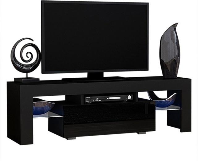 Milano 130 Modern Led Tv Cabinet Console 55 Inch Tv Stand With Newest Tv Stands For 55 Inch Tv (View 13 of 20)