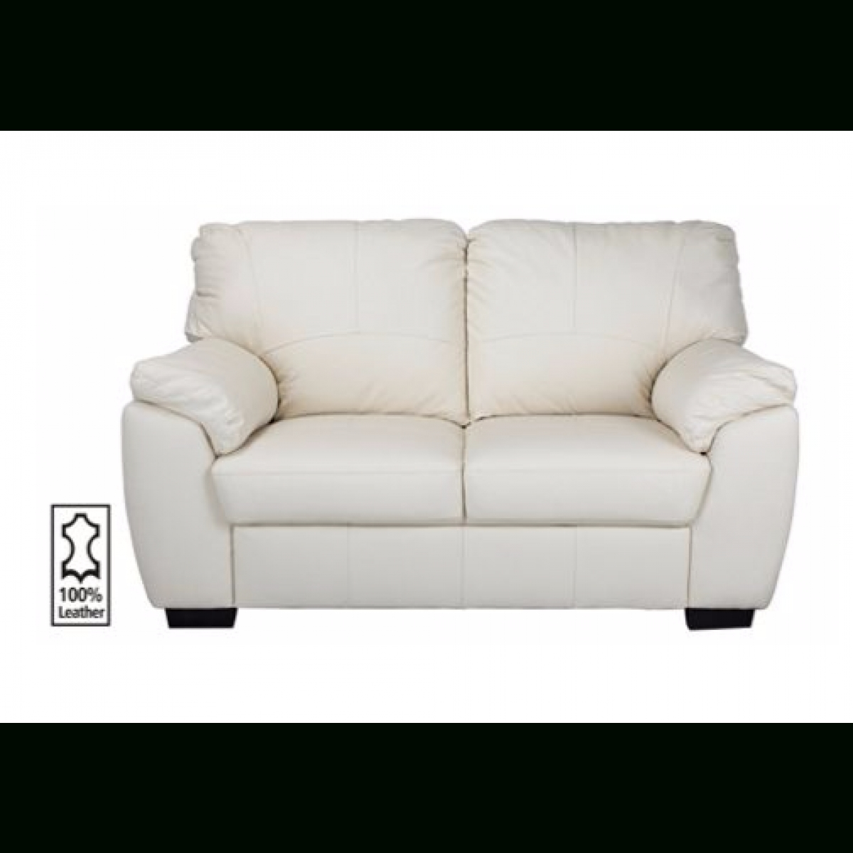 Milano Regular Leather Sofa – Ivory (View 16 of 20)