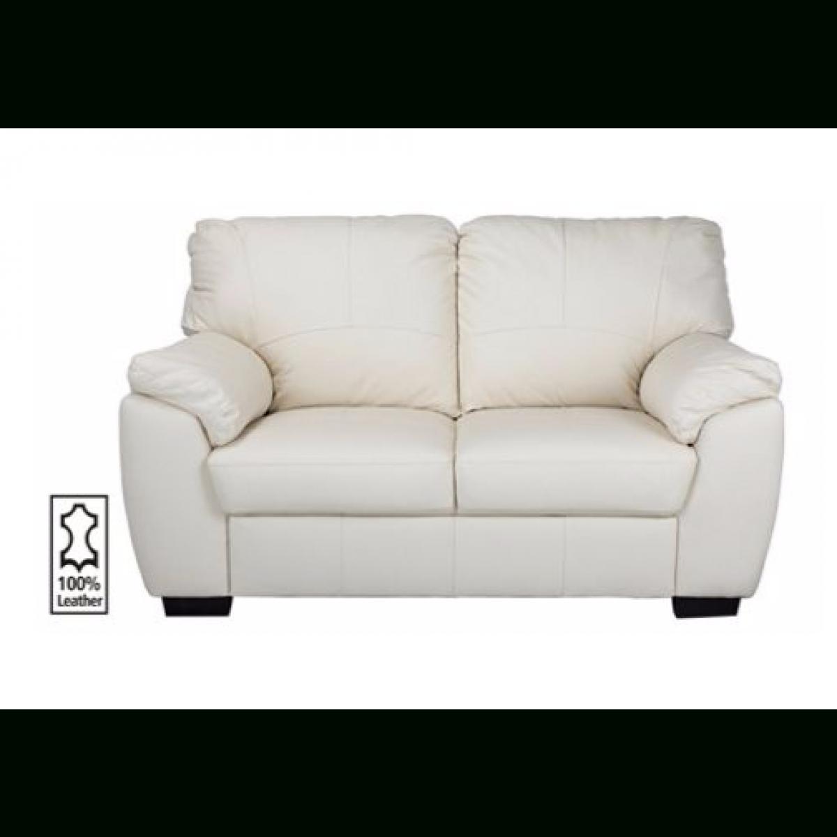 Milano Regular Leather Sofa – Ivory (Image 14 of 20)
