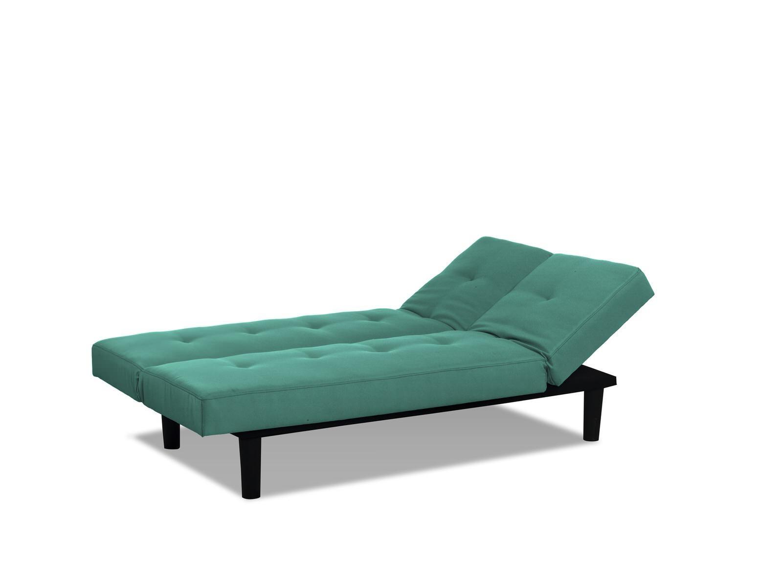 Mini Lounger Convertible Sofa Bed Tealserta / Lifestyle Inside Mini Sofa Beds (Image 9 of 20)
