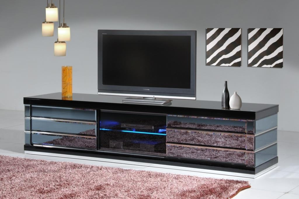 Mirror Tv Cabinet, Mirrored Tv Wall Cabinet Mirrored Tv Cabinet Throughout Most Popular Mirror Tv Cabinets (Image 9 of 20)