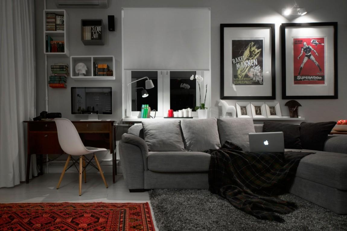Modern Bachelor Pad Ideas Room Design Great Bachelor Pad Ideas In Wall Art For Bachelor Pad Living Room (View 12 of 20)
