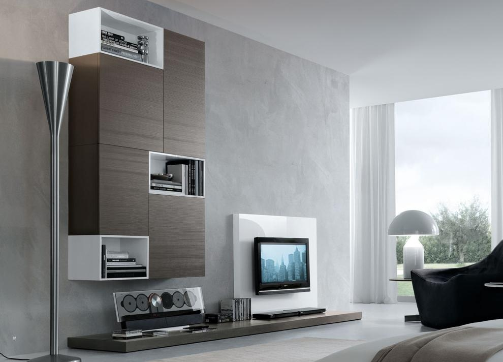 Modern Contemporary Tv Wall Units Designs | All Contemporary Design Throughout Best And Newest Contemporary Tv Wall Units (Image 15 of 20)