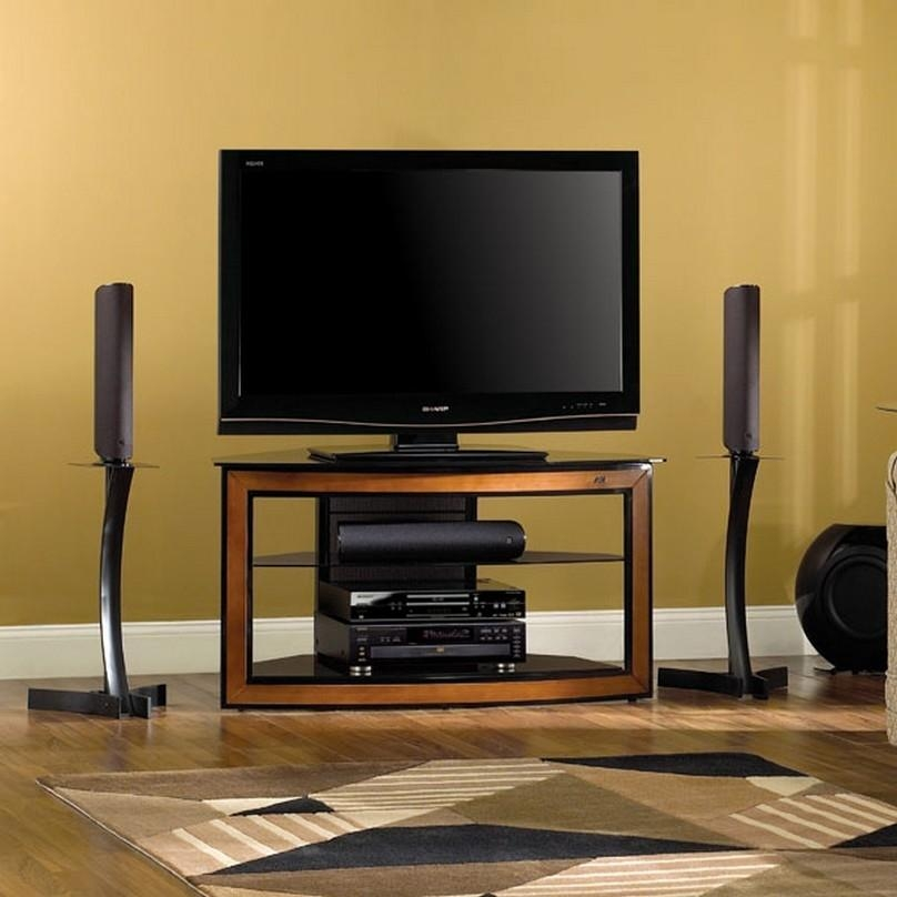 Modern Corner Tv Stands For Flat Screens | Nytexas Inside Latest Corner Tv Cabinets For Flat Screen (View 12 of 20)