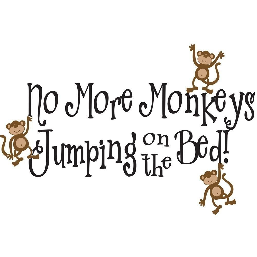 Modern Decoration No More Monkeys Jumping On The Bed Wall Art For No More Monkeys Jumping On The Bed Wall Art (Image 17 of 20)