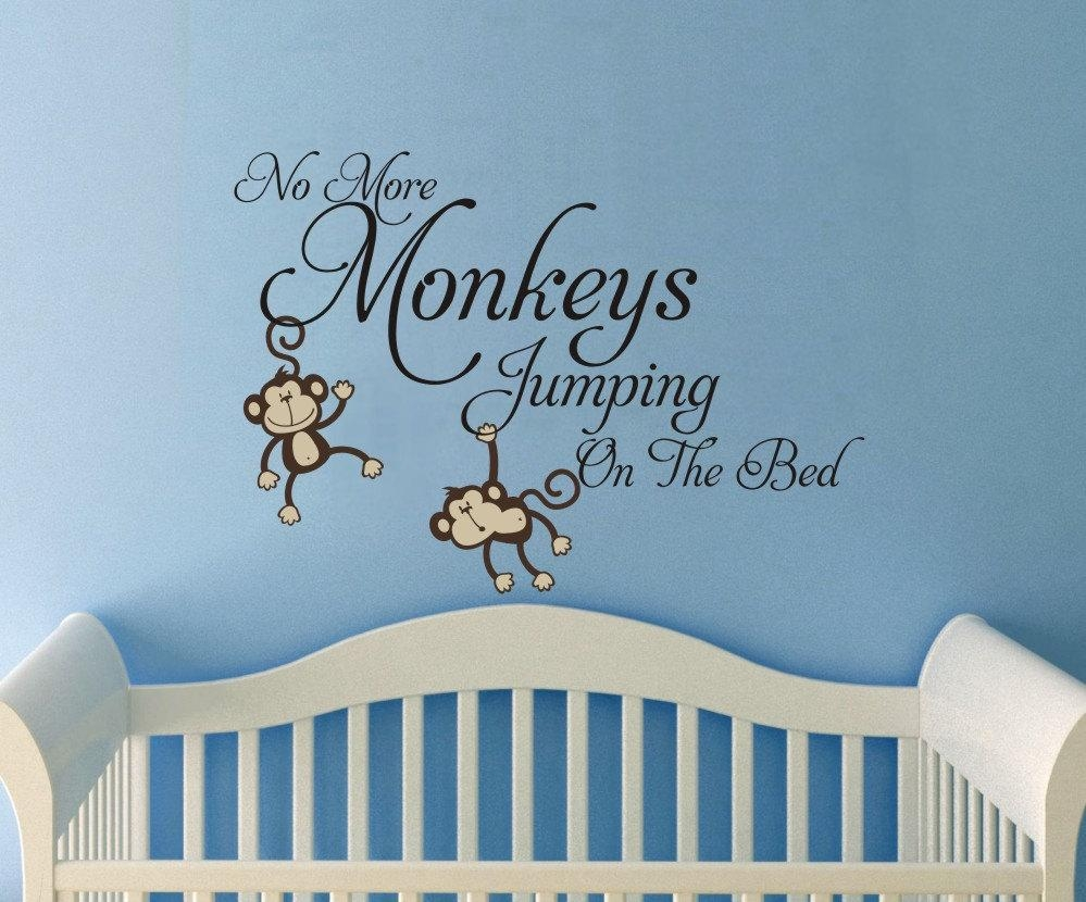 Modern Decoration No More Monkeys Jumping On The Bed Wall Art With Regard To No More Monkeys Jumping On The Bed Wall Art (Image 18 of 20)