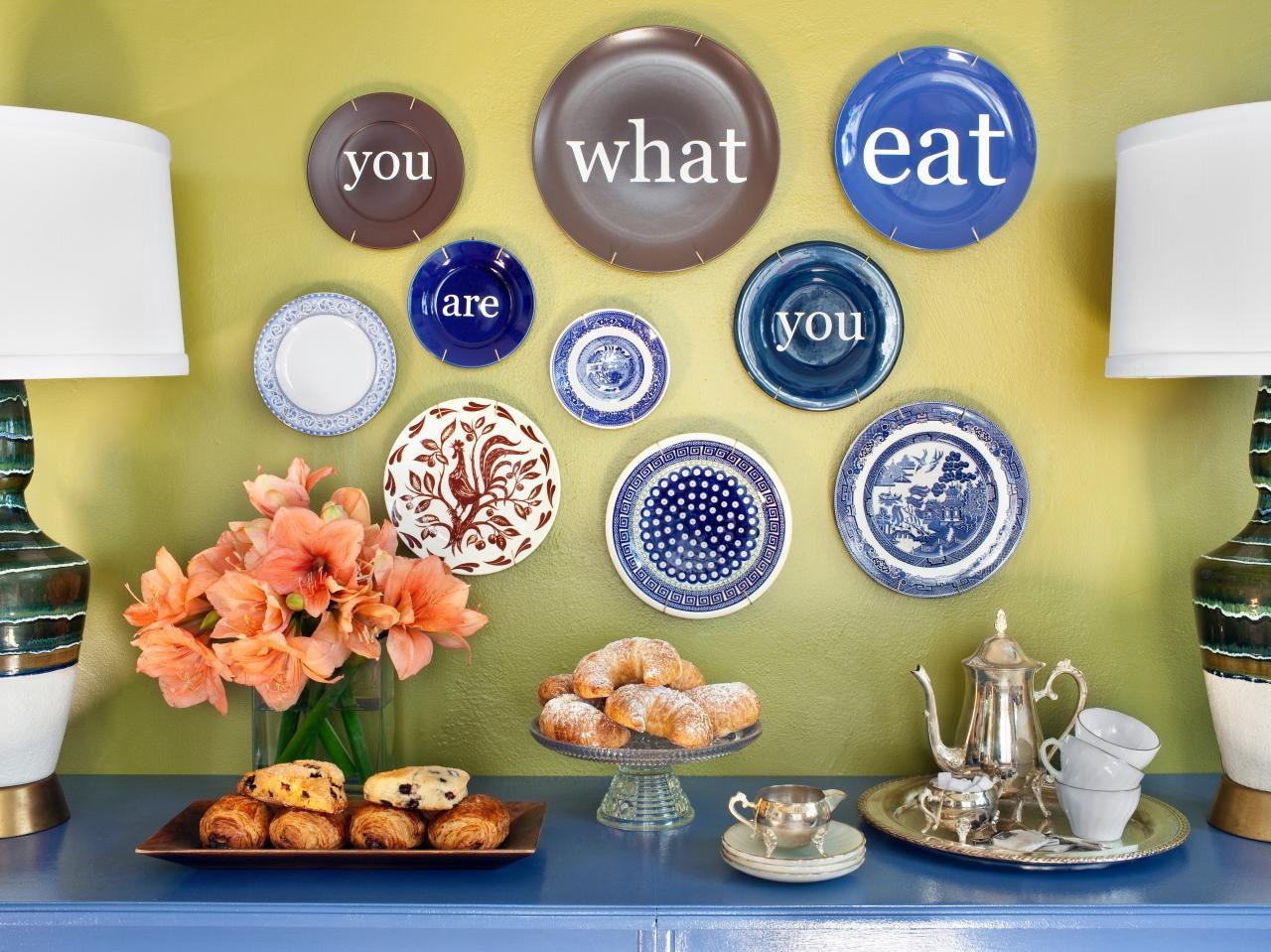 Modern Decorative Wall Plates | Hgtv Throughout Decorative Plates For Wall Art (Image 14 of 20)