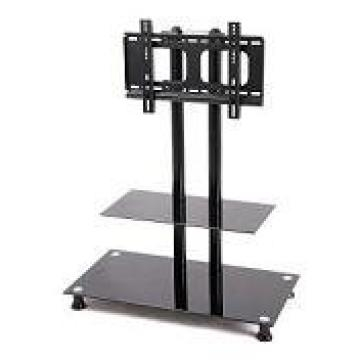 Modern Design Glass Lcd Tv Stand With Bracket Manufacturer From Pertaining To Most Current Tv Stands With Bracket (View 7 of 20)