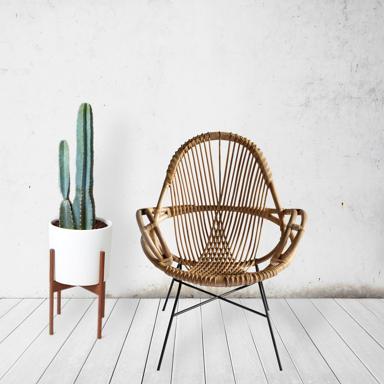 Modern Handwoven Rattan Chairs From Wend – Design Milk With Modern Rattan Sofas (Image 10 of 23)