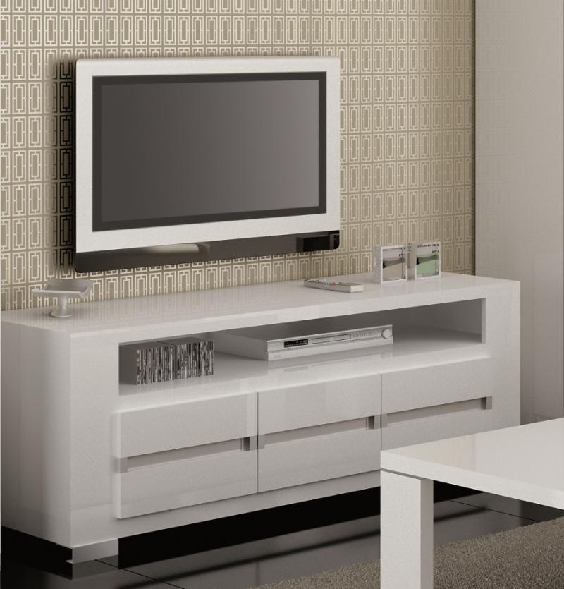 Modern High Gloss Tv Unit | Modern Furniture | Modern High Gloss Intended For Newest Modern White Gloss Tv Stands (Image 9 of 20)