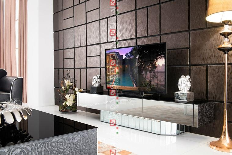 Modern Italy Tv Stands / Upright Tv Stand / Tall Tv Stands Lv E808 Pertaining To Latest Upright Tv Stands (View 11 of 20)