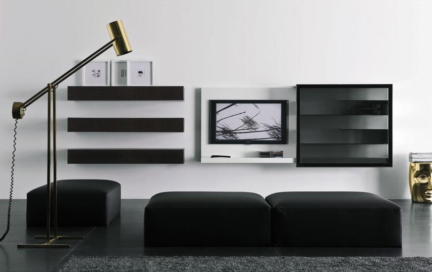 Modern Lacquered Tv Cabinets – Spazio Box From Pianca – Digsdigs In Most Recent Tv Cabinets Contemporary Design (Image 15 of 20)