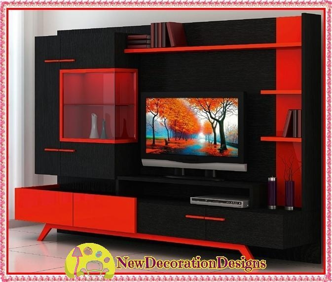 Featured Image of Red Tv Units