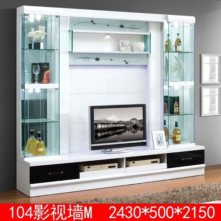 Modern Lcd Tv Cabinet, Modern Lcd Tv Cabinet Suppliers And Within Most Up To Date Modern Lcd Tv Cases (View 12 of 20)