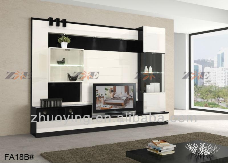 Modern Lcd Tv Wooden Stand Design – Home Ideas Designs Intended For Newest Modern Lcd Tv Cases (Image 17 of 20)