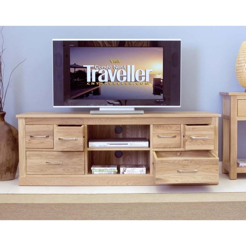 Modern Light Oak Tv Units | Zurleys Within Current Light Oak Tv Cabinets (View 12 of 20)