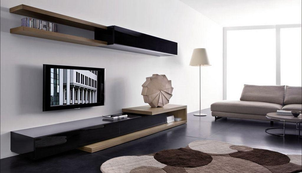 Modern Luxury Wall Tv Unit Unique Modern Contemporary Tv Wall For 2017 Modern Tv Units (Image 15 of 20)