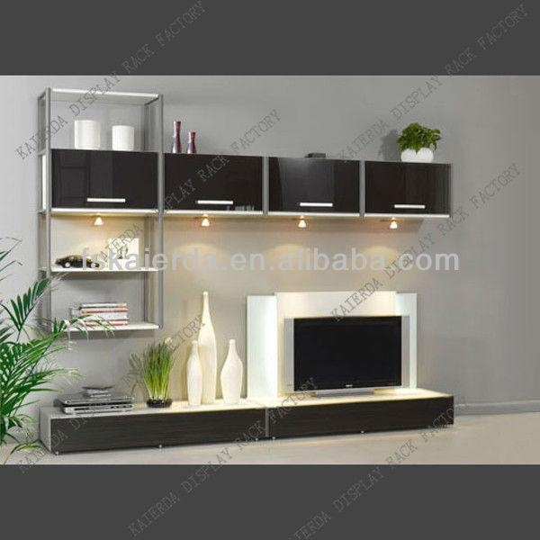 Modern Mdf Wood Lcd Tv Wall Unit Designs – Buy Lcd Tv Wall Unit In Most Popular Modern Lcd Tv Cases (View 9 of 20)