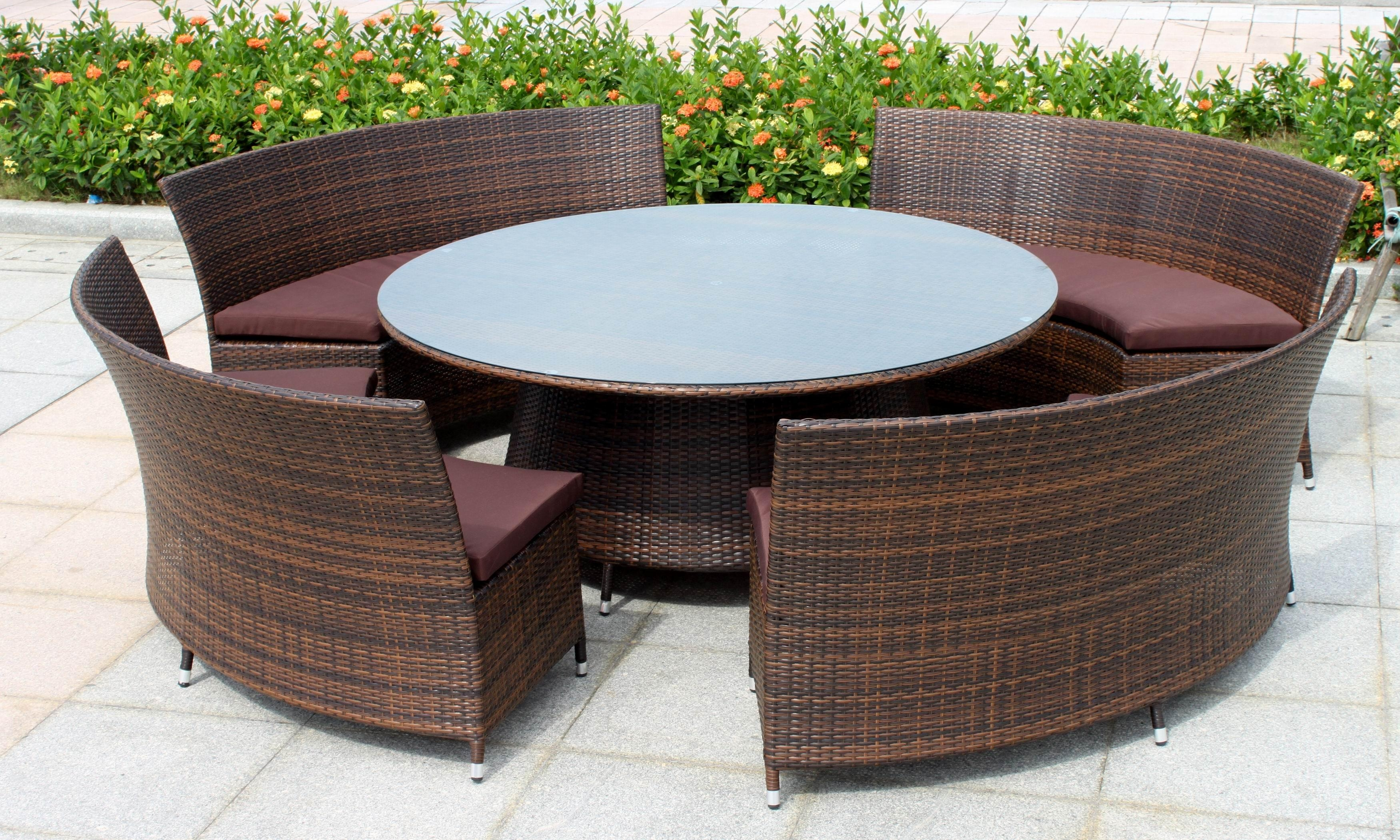 Modern Rattan Furniture And Outdoor Patio Sofas Image 16 Of 24 For Modern Rattan Sofas (Image 11 of 23)