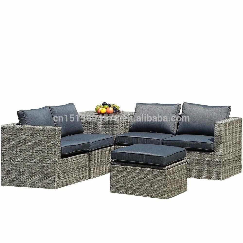 Modern Rattan Furniture, Modern Rattan Furniture Suppliers And Inside Modern Rattan Sofas (Image 15 of 23)