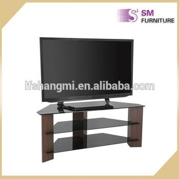 Modern Simple Black Glass Tv Cabinet 55 Inch Tv Stand – Buy High In Most Up To Date Black Glass Tv Cabinet (Image 15 of 20)