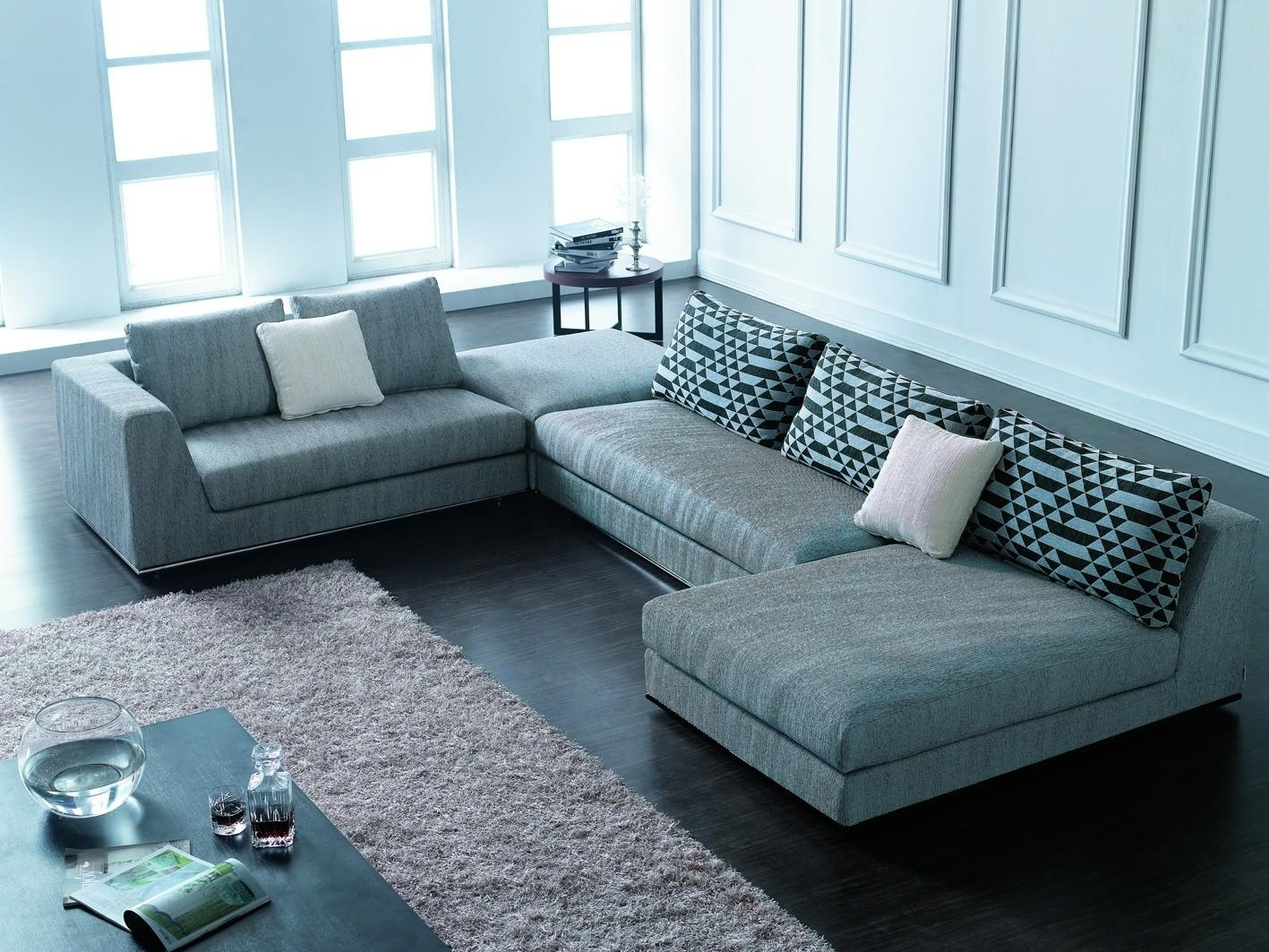 Modern Sofas Sectionals – Revistapacheco Regarding Modern Sofas Sectionals (View 4 of 21)