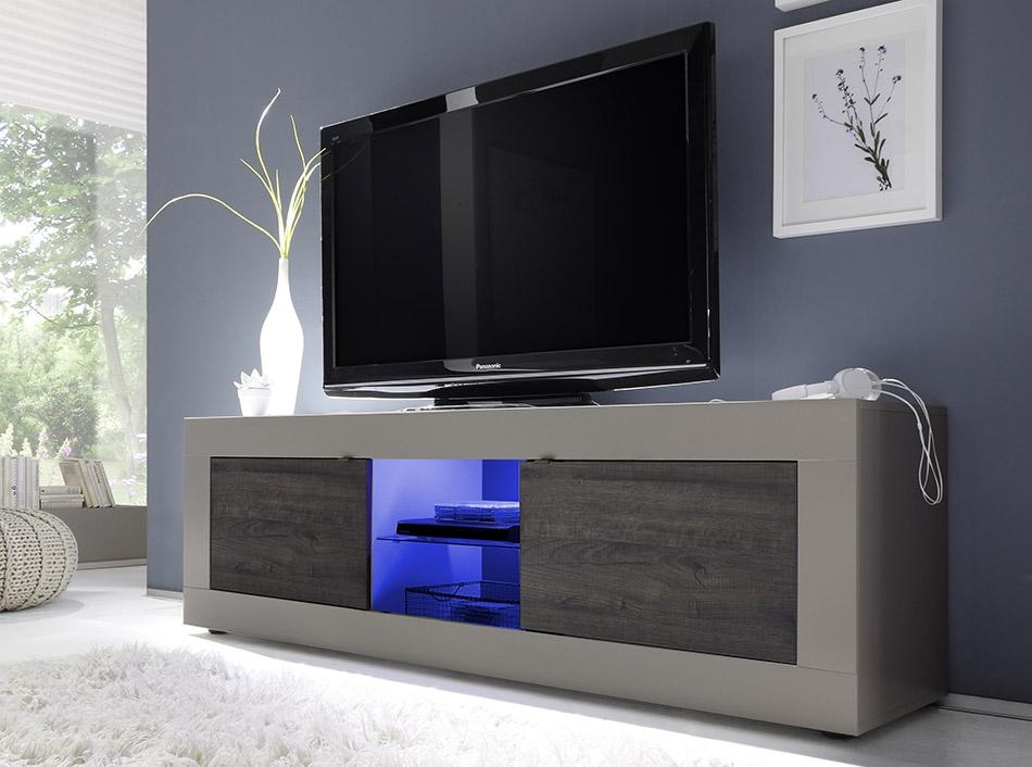 Modern Tv Stand Basic 71Lc Mobili Within Most Popular Modern Tv Stands (Image 15 of 20)