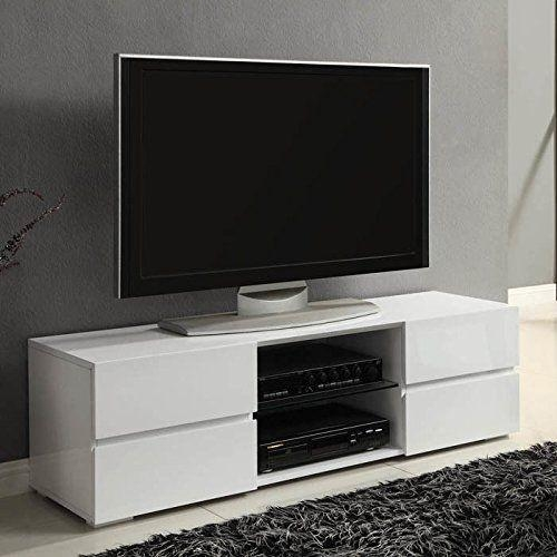 Modern Tv Stand Media Entertainment Center Console Cabinet Drawers Regarding Most Up To Date Modern Tv Entertainment Centers (View 16 of 20)