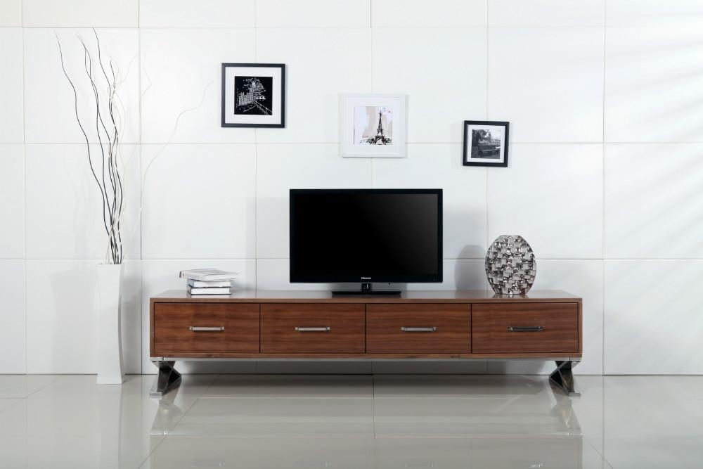Modern Tv Stand Nova Domus Lorena Modern Walnut Tv Stand Modern Regarding Most Up To Date Modern Wooden Tv Stands (Image 15 of 20)