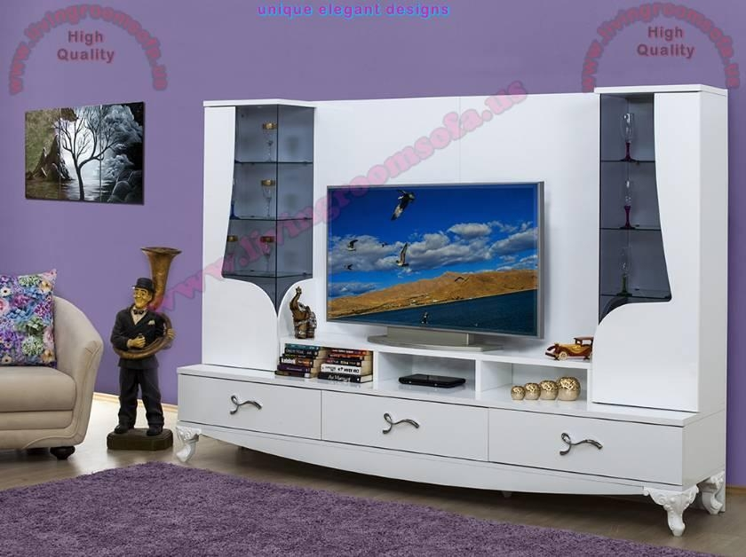 Modern Tv Stand White Tv Cabinet Flat Screen Tv Stands – Interior Pertaining To Current Modern Tv Stands For Flat Screens (View 16 of 20)