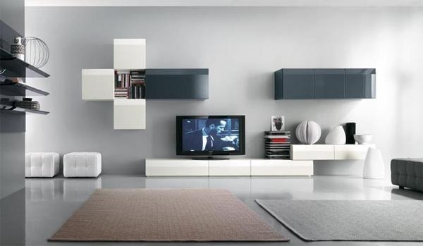 Modern Tv Stands Design With Wall System Furniture Throughout 2018 Modern Design Tv Cabinets (Image 13 of 20)